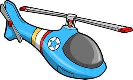 Ilustração bonito do vetor do helicóptero Imagens de Stock