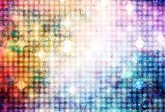 Ilustração brilhante colorida abstrata do fundo das luzes Fotos de Stock