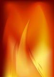Ilustração brilhante do fundo da flama ilustração stock