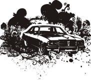 Ilustração clássica do carro Fotografia de Stock Royalty Free