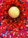 Ilustração colorida da bola 3d do disco. EPS 10 Imagens de Stock