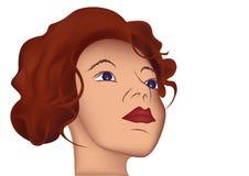 Ilustração colorida das mulheres maravilha Fotografia de Stock