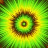Ilustração colorida do túnel psicótico Imagens de Stock