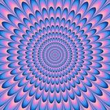 Ilustração colorida do túnel psicótico Ilustração Stock