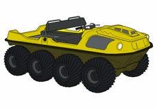 Ilustração colorida do vetor de ATV Imagem de Stock Royalty Free