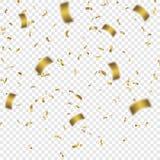 Ilustração colorida do vetor dos confetes Foto de Stock Royalty Free
