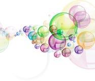 Ilustração colorida dos círculos Imagem de Stock