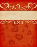 Ilustração com coração ilustração do vetor