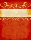 Ilustração com coração ilustração royalty free