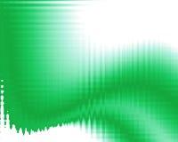 Ilustração com cores verdes Imagens de Stock