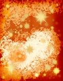 Ilustração com estrelas ilustração do vetor