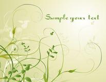 Ilustração com flores Ilustração do Vetor