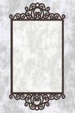Ilustração com frame do ferro foto de stock