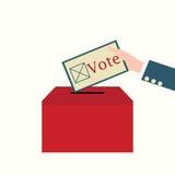 Ilustração conceptual do vetor do projeto do voto Ilustração Royalty Free