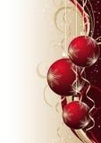 A ilustração contem a imagem do Natal Fotografia de Stock Royalty Free