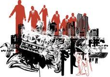 Ilustração corporativa da potência. Imagens de Stock