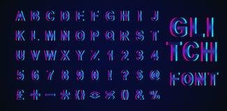 Ilustração criativa do vetor da fonte isométrica do pulso aleatório moderno da tendência isolada no fundo Alfabeto do projeto 3d  ilustração royalty free