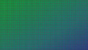 Ilustração criativa do vetor da textura macro conduzida da tela isolada no fundo transparente Diodo do rgb do projeto da arte ilustração do vetor