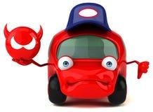 Ilustração 3D automobilístico do divertimento Fotografia de Stock Royalty Free
