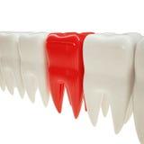 ilustração 3d de um dente Imagem de Stock Royalty Free