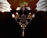 ilustração 3D de um dragão Imagem de Stock
