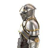 ilustração 3d de um terno de armadura completo isolado no fundo branco Imagens de Stock Royalty Free