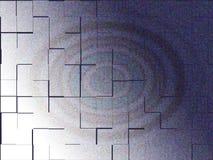 ilustração 3d de uma imagem de fundo do sumário da cor preliminar Fotos de Stock