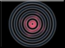 a ilustração 3d de uma imagem de fundo do sumário da cor preliminar circunda ilustração do vetor