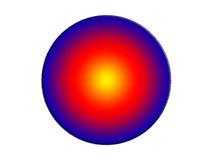 a ilustração 3d de uma imagem de fundo do sumário da cor preliminar circunda Imagem de Stock Royalty Free
