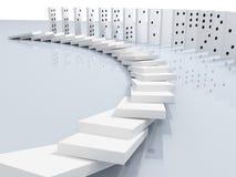 ilustração 3d do dominó Foto de Stock Royalty Free
