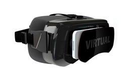 ilustração 3d do vidro virtual Imagem de Stock
