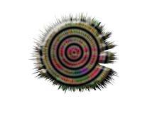 ilustração 3d dos cogumelos, bactérias, vírus na medicina ilustração do vetor