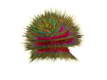 ilustração 3d dos cogumelos, bactérias, vírus na medicina Fotos de Stock