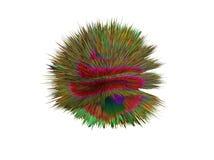 ilustração 3d dos cogumelos, bactérias, vírus na medicina Imagens de Stock Royalty Free