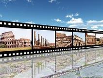 Impressões de Roma fotografia de stock royalty free