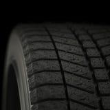 a ilustração 3d pneus de um inverno fecha-se acima ilustração stock