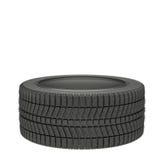 ilustração 3d pneus de um inverno isolados ilustração do vetor