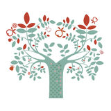 Ilustração da árvore da fantasia Foto de Stock