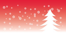 Ilustração da árvore de Natal fotos de stock