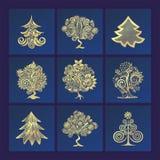 Ilustração da árvore do inverno Imagem de Stock Royalty Free