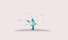 Ilustração da árvore do ` s da esperança Foto de Stock