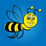 Ilustração da abelha dos desenhos animados Imagens de Stock