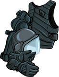 Ilustração da armadura de corpo moderna Imagens de Stock Royalty Free