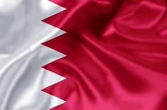 Ilustração da bandeira de Barém ilustração royalty free