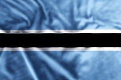 Ilustração da bandeira de Botswana ilustração do vetor
