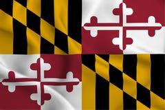 Ilustração da bandeira de Maryland ilustração royalty free