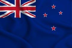 Ilustração da bandeira de Nova Zelândia ilustração do vetor