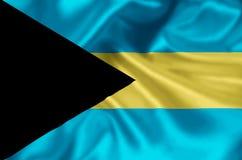 Ilustração da bandeira do Bahamas ilustração do vetor