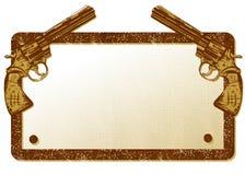 Ilustração da bandeira dos injetores Imagens de Stock
