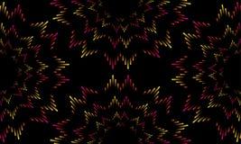 Ilustração da barra musical colorida que mostra o volume Fundo colorido das ondas sadias do equalizador da música Vetor Fotos de Stock Royalty Free